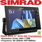 SIMRAD NSS9 evo3 | Chart Plotter | Fish Finder | GPS Navigation | Navionics