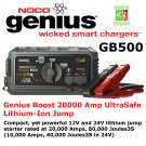NOCO Genius Boost | GB500 | Battery Charger | Jump Starter