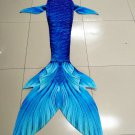 Silicone Mermaid Tails Inspired Mermaid Tails for Swimming for Adult Monofin Fabric Cosplay Gift