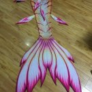 Custom Pink Mermaid Tails for Swimming with Monfin Adult Beachwear Swimsuit Birthday Gift