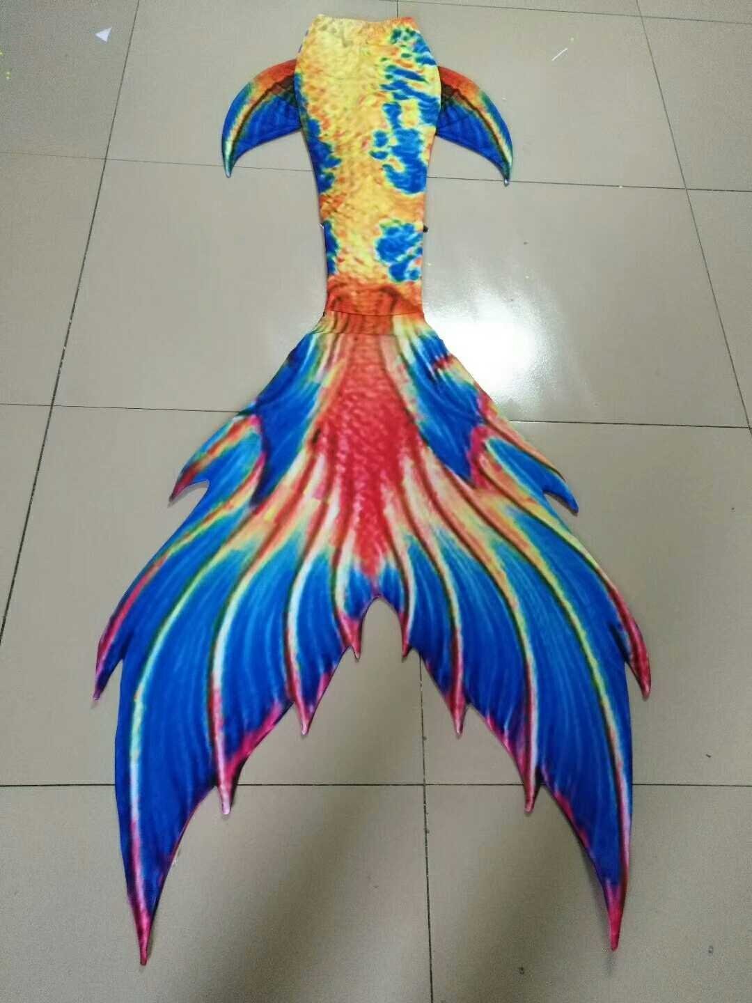 Emperor Swimmable Mermaid Tails with Monofin for Girls Teens