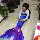 Kids Swimmable Mermaid Tail with Monofin Best Graduation Gift