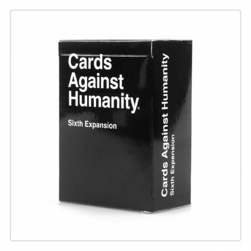Cards Against Humanity Sixth Expansion Cards Game