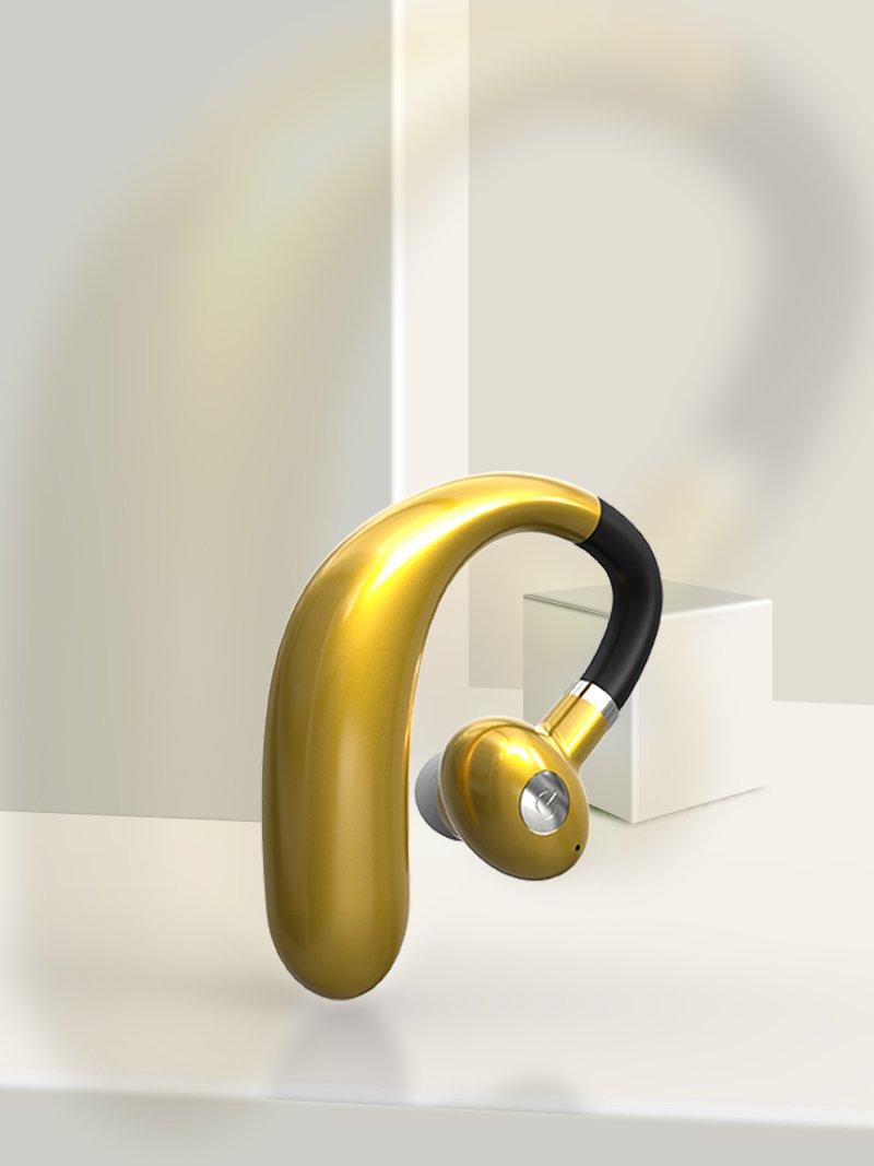 Smart Phone Wireless Headphones Sports Bluetooth 5.0 R10 TWS Earphones Golden