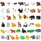 43pcs Zoo Animal Toy