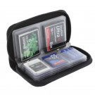 Memory Card Storage Bag Carrying Case Holder 22 Slots for CF/SD/Micro SD/SDHC/MS/DS