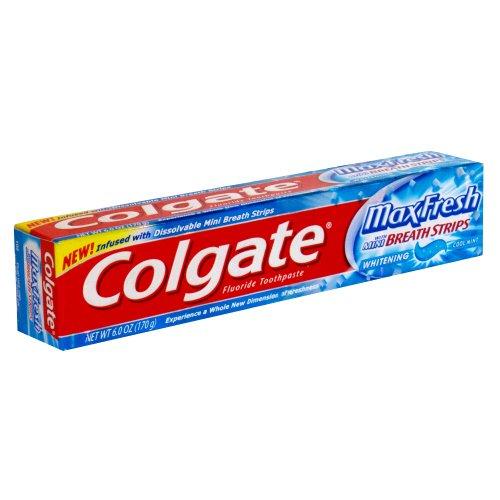Colgate Max Fresh w/mini breath strips (2 pack)