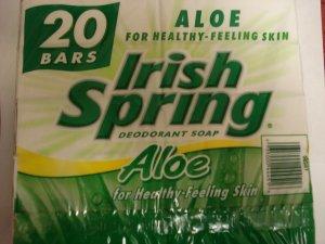 Irish Spring Soap with Aloe (20 bars)