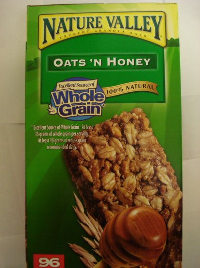 Nature Valley Granola Bars- Oats and Honey (96 bars)