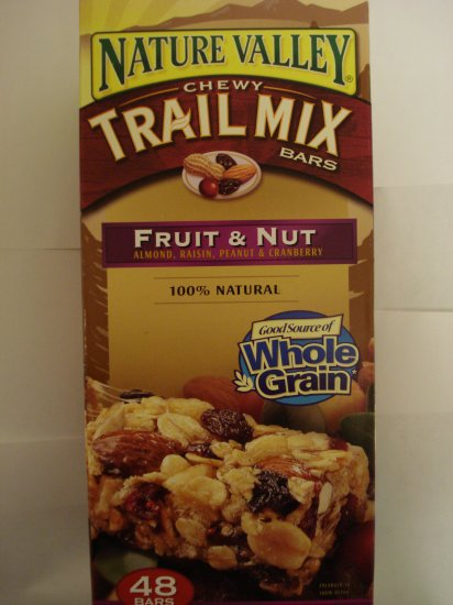 Nature Valley Chewy Trail Mix- Fruit and Nut (48 Bars)