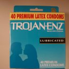 Trojan Lubricated Condoms (40 pack)