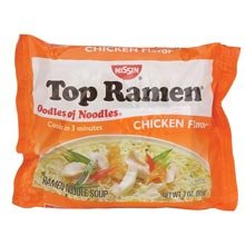 Nissin Top Ramen Chicken Flavor (8 Pack)