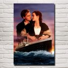 Leonardo DiCaprio Titanic Movie Art Silk Fabric Poster Print Home Decor Pictures 24x36 Inches