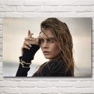 Cara Delevingne Woman Model Art Silk Fabric Poster Prints Pictures Home Decor Painting 24x36 Inch