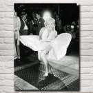 Sexy Lady Marilyn Monroe Art Silk Fabric Poster Prints Home Wall Decor Pictures 18x24 Inches