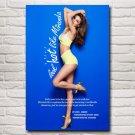 Miranda Kerr Hot Sexy Bikini Swimsuit Girl Super Model Art Silk Poster Decorative 24x36 Inches
