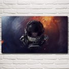 Astronaut Space Planet Science Fiction Futuristic Art Silk Poster Wall Decor Pictures 20x36 Inch