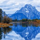 USA Grand Teton National Park Fabric Silk Posters And Prints Home Wall Art 24x36 Inch