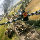 World War 2 Aircrafts Tanks Fabric Silk Posters And Prints Home Wall Art 24x36 Inch