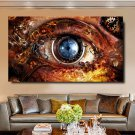 1 Panel HD Printed Technology Eye Posters Pictures Wall Art Canvas Painting-With Framed