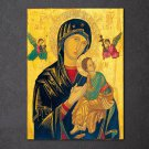 1 Panel HD Printed Virgin MaryJesus Christian Posters Pictures Wall Art Canvas Painting-With Framed