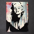 1 Panel HD Printed Marilyn Monroe Posters Pictures Wall Art Canvas Painting-With Framed