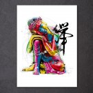 1 Panel HD Printed Chan Meditation Buddha Posters Pictures Wall Art Canvas Painting-With Framed