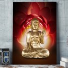 1 Panel HD Printed Lous Buddha Posters Pictures Wall Art Canvas Painting-With Framed