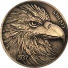 Hobo Nickel 1937-D 3-Legged Buffalo Nickel Coin Copy Type 14