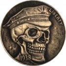 Hobo Nickel 1937-D 3-Legged Buffalo Nickel Coin Copy Type 18