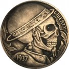 Hobo Nickel 1937-D 3-Legged Buffalo Nickel Coin Copy Type 21