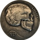 Hobo Nickel 1937-D 3-Legged Buffalo Nickel Coin Copy Type 3