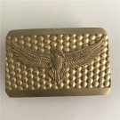 3D Flying Eagle Solid Brass Western Cowboy Belt Buckles