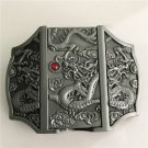 Dragon Lighter Western Cowboy Men Belt Buckles Fit 4cm Wide Belt
