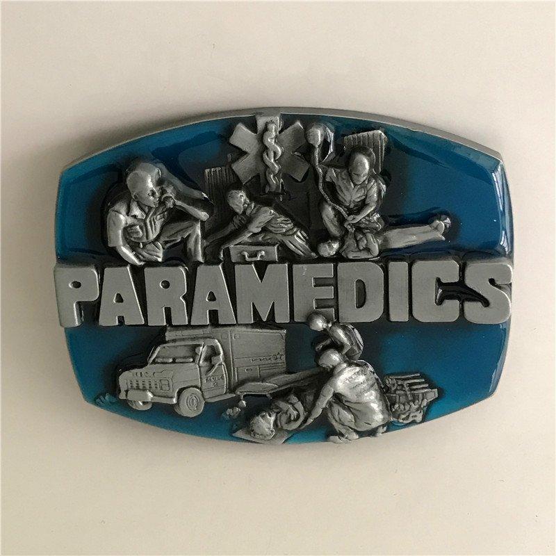 Paramedics Western Cowboy Men Belt Buckles Fit 4cm Wide Belt