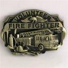 Volunteer Fire Fighters Western Cowboy Men Belt Buckles Fit 4cm Wide Belt