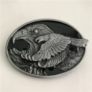 Silver Eagle Western Cowboy Men's Belt Buckles Fit 4cm Wide Belt