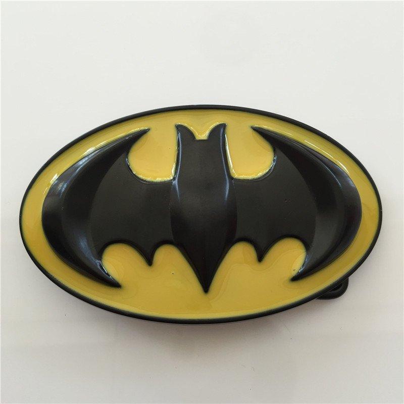 Superhero Batman Western Cowboy Men's Belt Buckles Fit 4cm Wide Belt