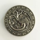 Game of Thrones Western Men's Cowboy Belt Buckles Fit 4cm Wide Jeans Belt