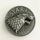 Game of Thrones Stark Wolf Western Men's Cowboy Belt Buckles Fit 4cm Wide Jeans Belt