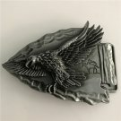Flying Eagle Western Men's Cowboy Belt Buckles Fit 4cm Wide Jeans Belt