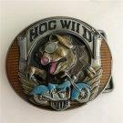 Wild Boar Motorcycle Western Men's Cowboy Belt Buckles Fit 4cm Wide Jeans Belt