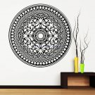Creative Indian Round Mandala Vinyl Wall Stickers Home Decorations Yoga Art Mural