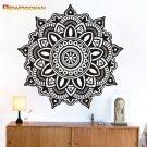 Removable Mandala Yoga Vinyl Wall Stickers Om Symbol Mehndi Namaste Wall Decals