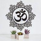 Hindu Mandala Yoga Symbol Wall Stickers Home Decoration Vinyl Art