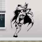 Justice League Batman Superhero Vinyl Wall Sticker Home Decor For Kids Bedroom Wall Decal