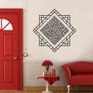 Al Kafirun Black Islamic Wall Sticker Vinyl Art Home Decor For Living Room Doorsticker