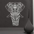 Mandala Yoga Ornament Indian Buddha God Elephant Wall Stickers Home Decor Art