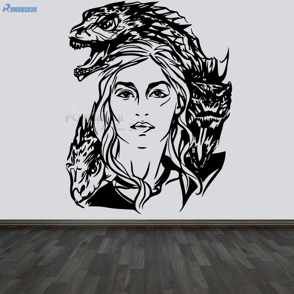 Wall Art Decals Sticker Game Of Thrones Vinyl Home Decor For Living Room