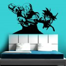 Goku Vs Piccolo Vinyl Wall Decal - Dragon Ball, DBZ Anime Wall Art Sticker Manga